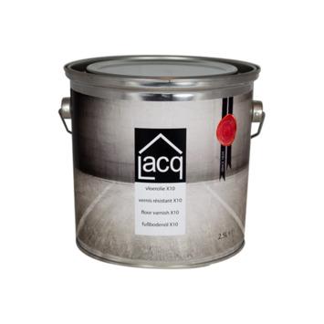 Lacq vloerolie X10 2,5 liter