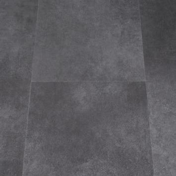 PVC click vloer Primera Allora donkergrijs 2,23 m2