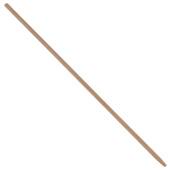 Bezemsteel hout 120 cm ø23,5 mm
