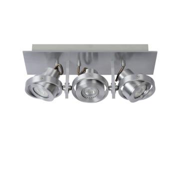 Lucide plafondspot Landa II 3x 5W aluminium