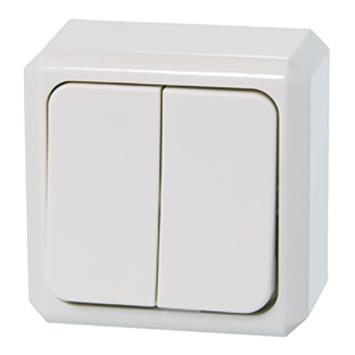 Schneider Electric Merten Contura opbouw serieschakelaar wit