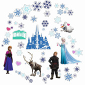 Muurstickers Frozen 51 stuks