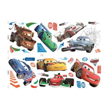 Muurstickers Disney Cars 2 stuks