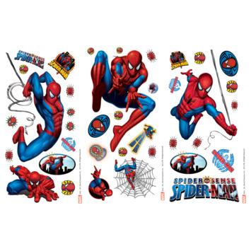 Muursticker Spiderman 41 stuks