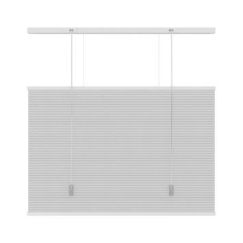 KARWEI dupli plisségordijn top down - bottom up wit (6001) 180x180 cm
