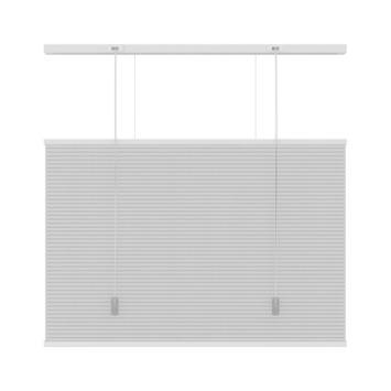 KARWEI dupli plisségordijn top down - bottom up wit (6001) 60x220 cm