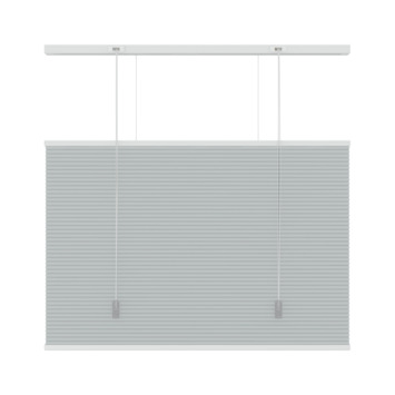 KARWEI dupli plisségordijn top down - bottom up grijs (6006) 120x180 cm