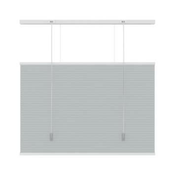 KARWEI dupli plisségordijn top down - bottom up grijs (6006) 80x220 cm