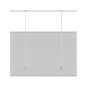 KARWEI plisségordijn top down - bottom up wit (6010) 140 x 180 cm (bxh)