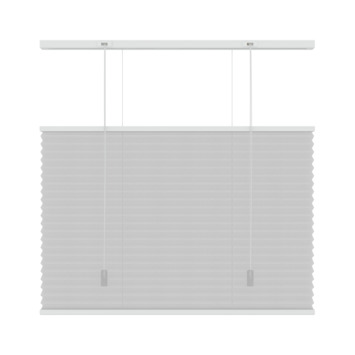 KARWEI plisségordijn top down - bottom up wit (6010) 140x220 cm (bxh)