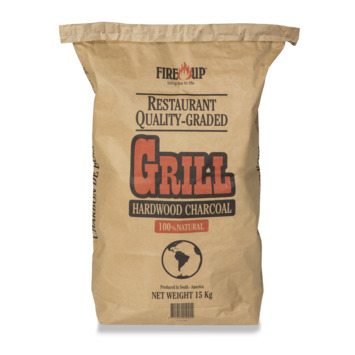 Fire-up professioneel houtskool grof 15kg