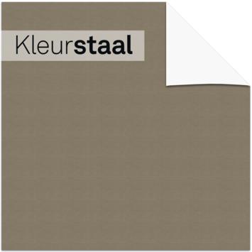 KARWEI kleurstaal lichtdoorlatend plisségordijn stoer grijs (11134)