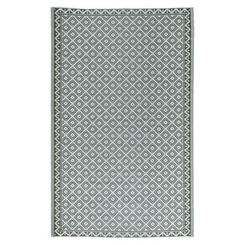 Buitenvloerkleed Valencia groen 160x230 cm