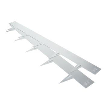 Tuinafboording multi edge verzinkt 1m
