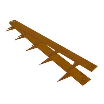 Tuinafboording multi edge Corten staal 1m