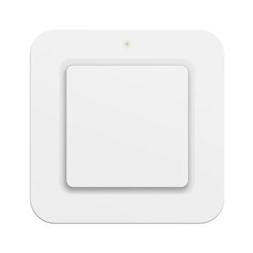 KlikAanKlikUit Draadloze enkelvoudige/dubbele wandschakelaar AWST-9000