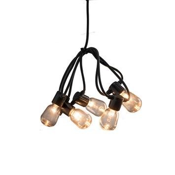 Feestverlichting lichtsnoer 40 LED lampen warm wit