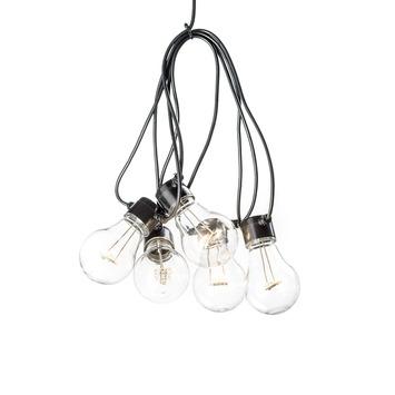 Feestverlichting lichtsnoer 20 LED lampen warm wit