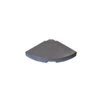 Parasoltegel voor Zweefparasol Antraciet - 25 kg