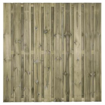 Schutting Royal Grenen 19 planken ca. 180x180 cm