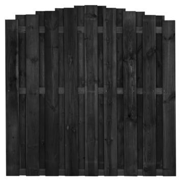 Schutting Royal toog trapgewijs antraciet 180x180cm