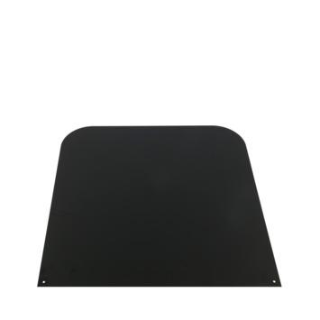 Vloerplaat staal antraciet 60x60 cm