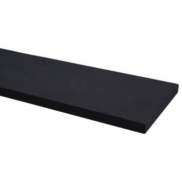 Plank eiken zwart 19x195 mm 250 cm