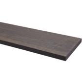 Plank eiken grijs 19x195 mm 250 cm