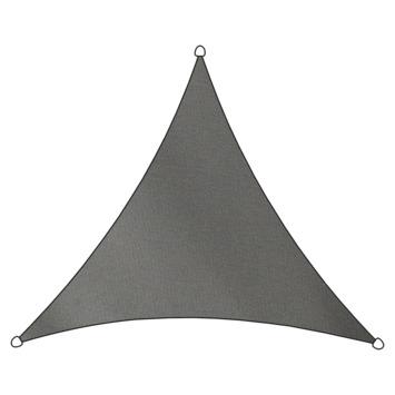 Livin' Outdoor Schaduwdoek Driehoek Poly Antraciet 500x500x500 cm