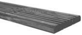 Vlonderplank reliëf grijs ca. 240x14x1,9 cm