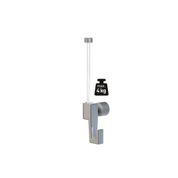 Artiteq perlon ophangkoord met haak (4 kg) voor Artiteq schilderij ophangsystemen