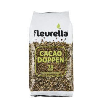 Fleurella cacaodoppen (zak 70 ltr)