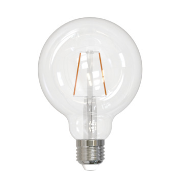 Handson LED-filament 95mm globe E27 1.7W(=20W) 200 lumen