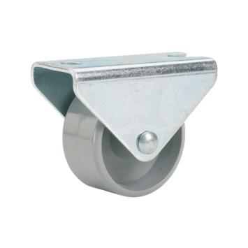 Bokwiel kunststof met plaatbevestiging Ø 25 mm max. 40 kg