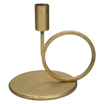 Kandelaar goud 16.5x13x16.5cm