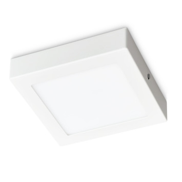 Prolight plafondlamp LED 12w vierk ip20