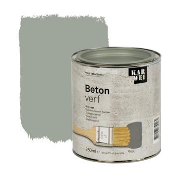 KARWEI betonverf mat grijs 750 ml