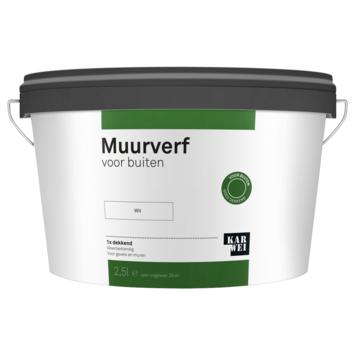 KARWEI muurverf buiten wit 2,5 liter