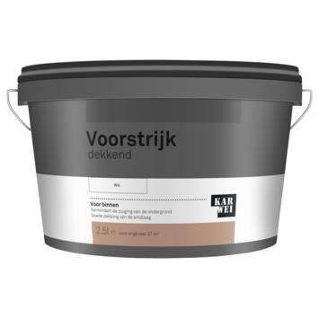 KARWEI voorstrijk dekkend wit 2,5 liter