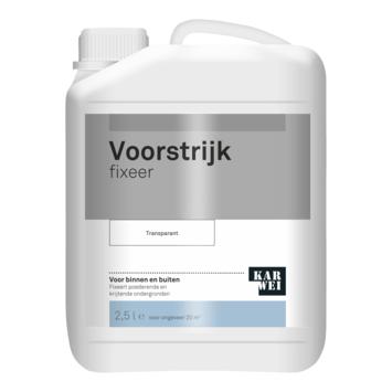 KARWEI voorstrijk fixeer transparant 2,5 liter