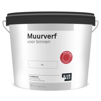 KARWEI muur- en plafondverf binnen wit 5 liter