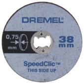 Dremel EZ SpeedClic dunne snijschijven 5-pack SC409