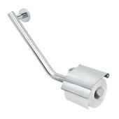 Tiger Boston Comfort en Safety toiletrolhouder met steun links chroom