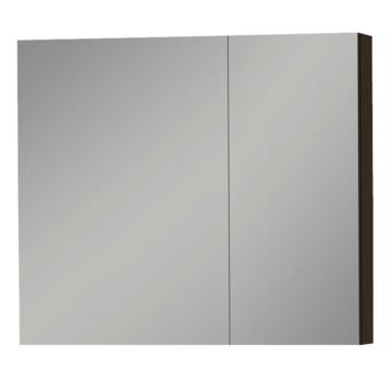 Tiger S-line spiegelkast 80 cm mat zwart