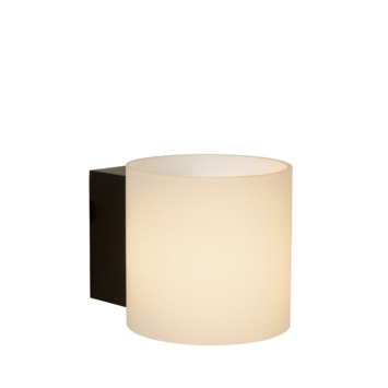 Lucide badkamer wandlamp Jelte IP44 zwart