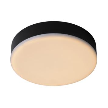 Lucide badkamer plafonnière Ceres IP44 zwart