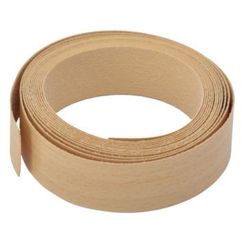 Strijkband beuken 23 mm (rol 2,5 m)