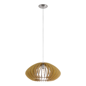 Eglo hanglamp Cossano Ø50 cm naturel