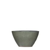Schaal grijs 14 x 6,5 cm