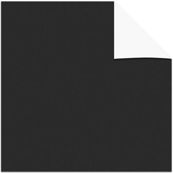 KARWEI kleurstaal verduisterend rolgordijn zwart (7005)